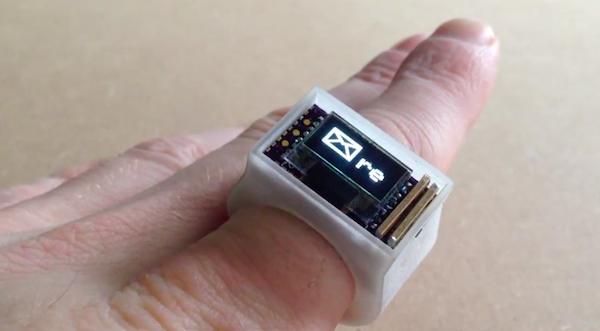 Ö bluetooth ring, un anillo inteligente capaz de mostrar las notificaciones de nuestro smartphone