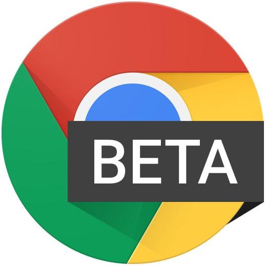 Chrome Beta logo