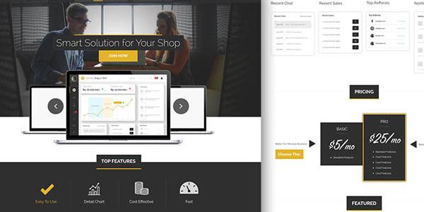 Ekomers: Una landing page para tu proxima aplicación