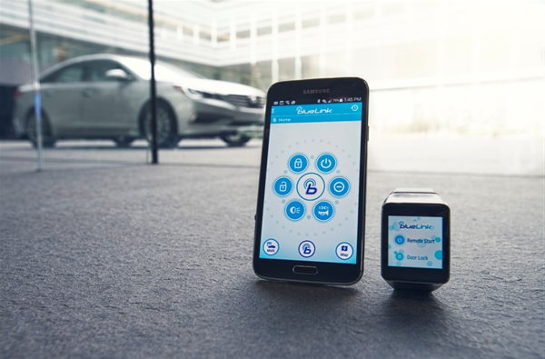 Hyundai smartwatch android