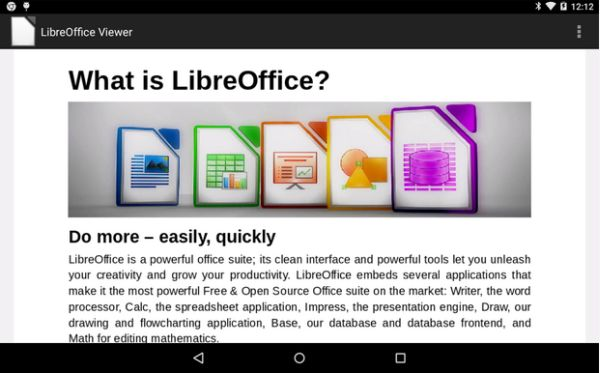 LibreOffice Viewer