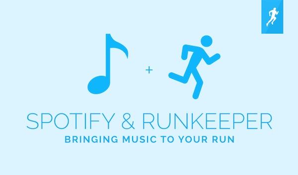 Runkeeper para iOS ofrece integración con Spotify Premium, para controlar la reproducción sin abandonar la app