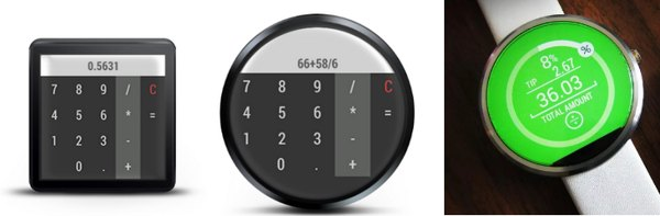 calculadoras android wear