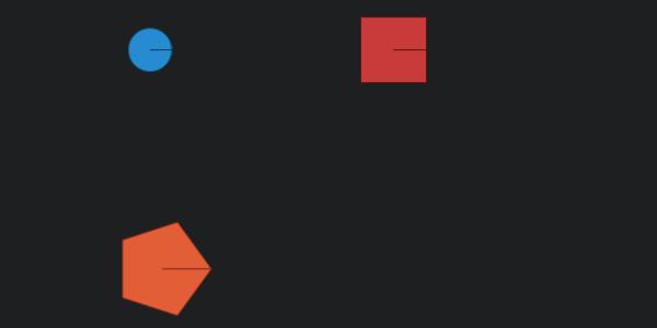 Figuras geometricas interactivas con CSS y JavaScript