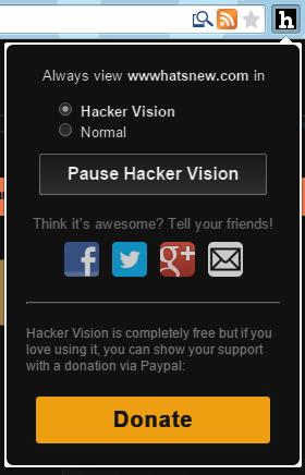 hacker vision