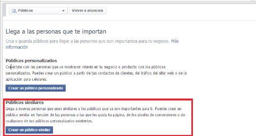 Públicos Similares de Facebook: cómo obtener una nueva lista de clientes