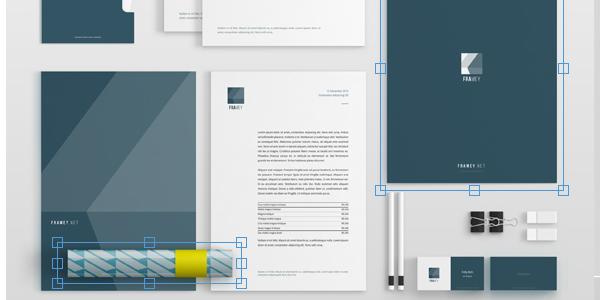 Mockups de papelería para que pruebes tu nueva imagen corporativa