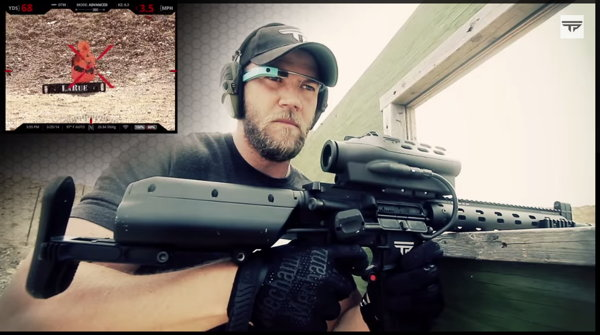 rifle de precision google glass