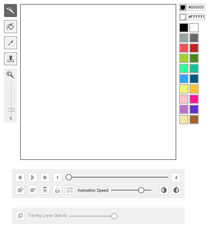 gifpaint, para crear gifs animados a mano