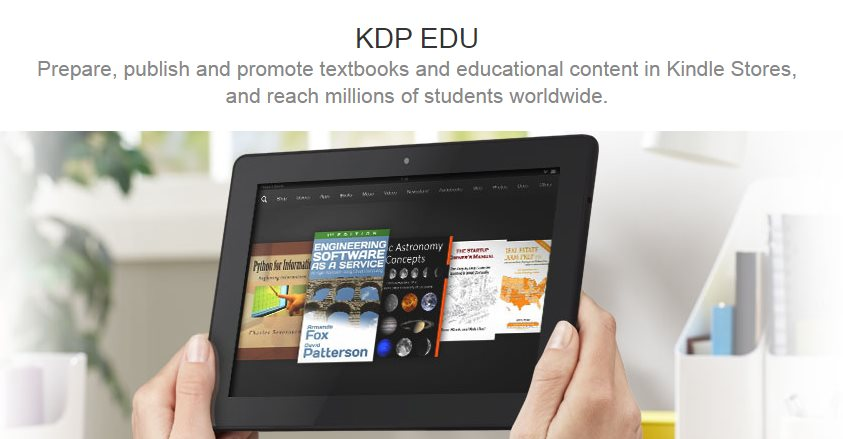 Amazon lanza un Creador de eBooks para educadores