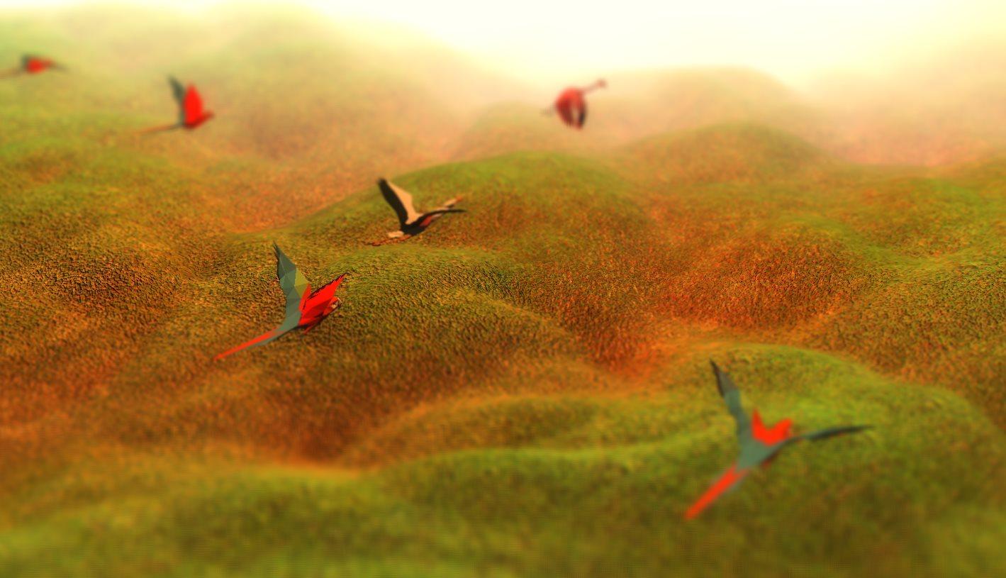 Paisajes 3D, dinámicos, con webgl en el navegador web
