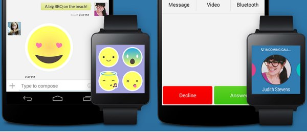 text me android wear