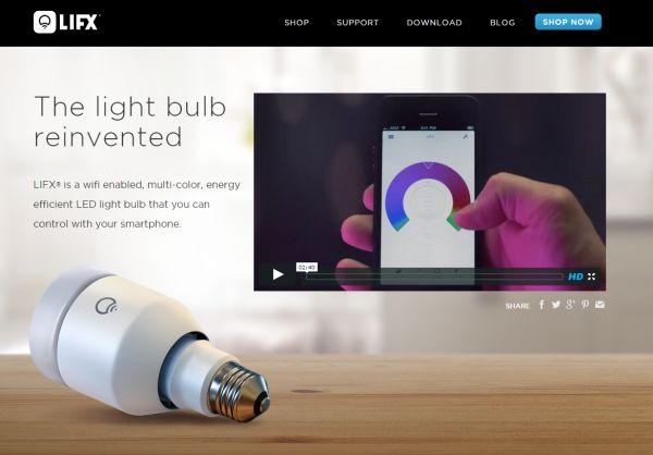 La aplicación oficial de las bombillas inteligentes LIFX cuenta con nueva versión con interesantes novedades