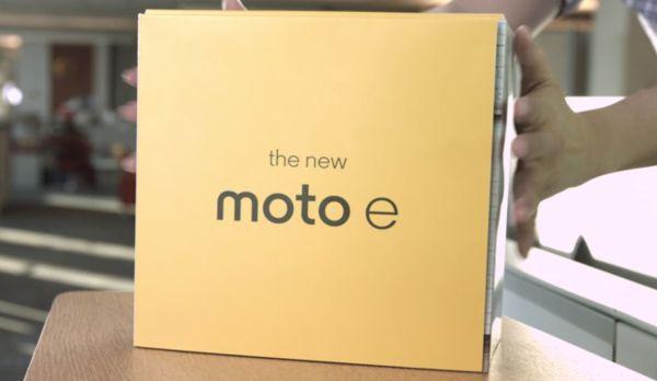 Nuevo Moto E