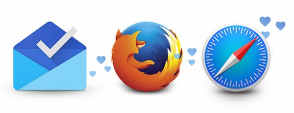 Inbox para Firefox y Safari