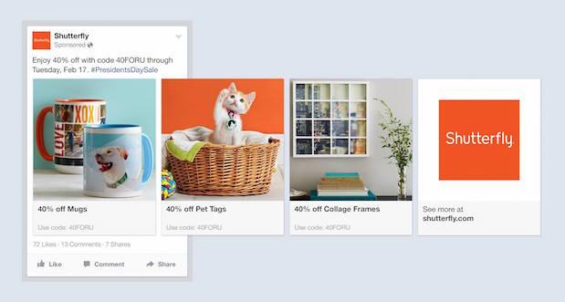 Facebook lanza su nueva vía publicitaria Product Ads