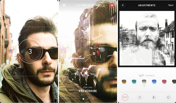 Reflections Ray-Ban app