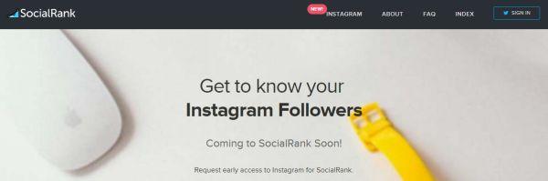 SocialRank Instagram