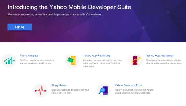 Yahoo Mobile Developer Suite