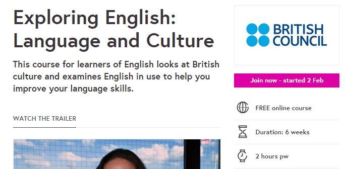 Un curso online gratuito para mejorar nuestro inglés, de British Council