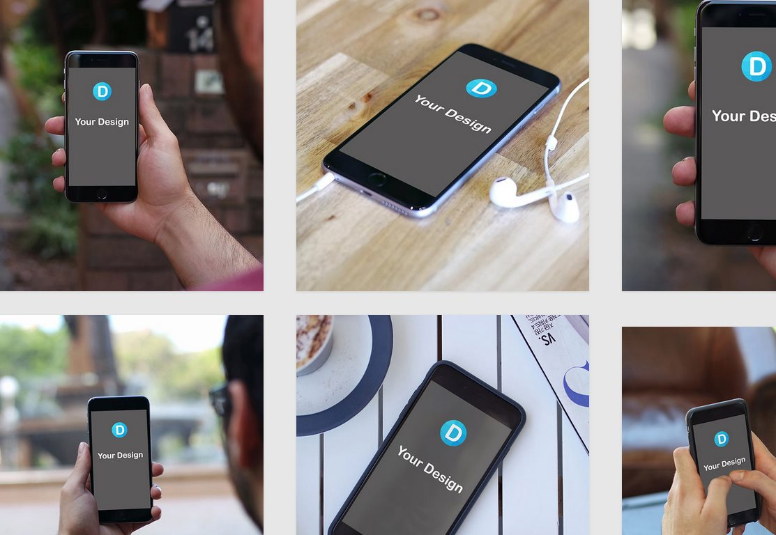dunnnk, para hacer montajes en segundos, mostrando nuestra web o app en móviles y ordenadores