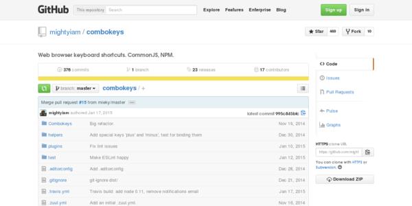 Combokeys: Atajos De Teclado En La Web