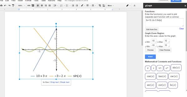 ecuaciones matematicas google drive