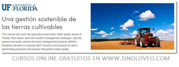 gestion sostenible de las tierras cultivables