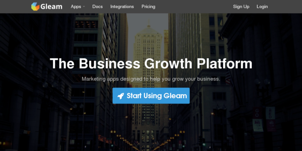 Gleam: Una Plataforma Para Hacer Crecer Tu Negocio
