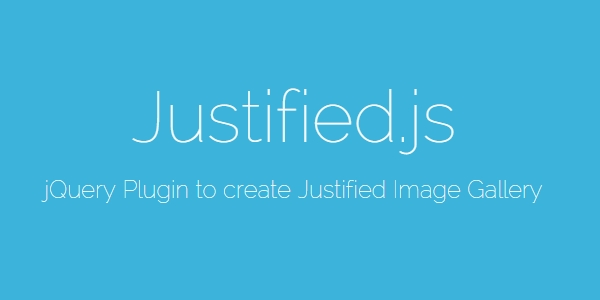 Justified.js: Galerí­as De Imágenes Justificadas