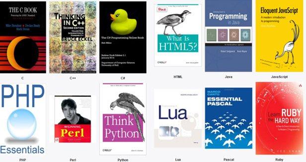 24 libros gratuitos para aprender a programar