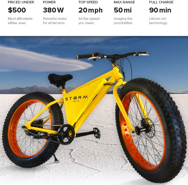 storm bici electrica