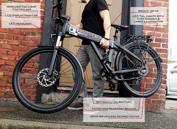Spark, una bicicleta eléctrica que combina el diseño de una bici tradicional con las posibilidades de los modelos eléctricos
