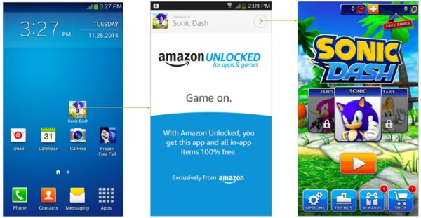 amazon prime juegos apps gratis