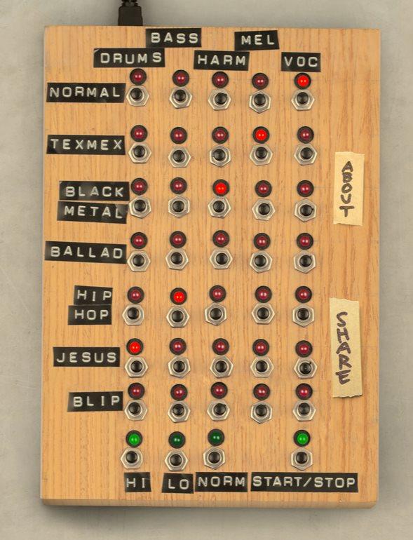 Un mezclador de música de Rick Astley en HTML5