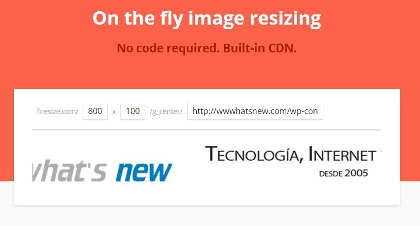 FireSize, para cambiar el tamaño de cualquier foto de forma inmediata y automática