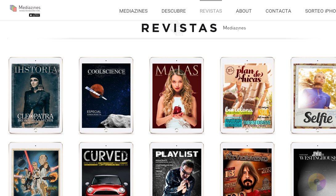 ztory y Mediazines, dos quioscos de revistas digitales en español