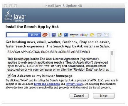 """Cuidado, Java ahora también instala """"programas no deseados"""" en Mac"""