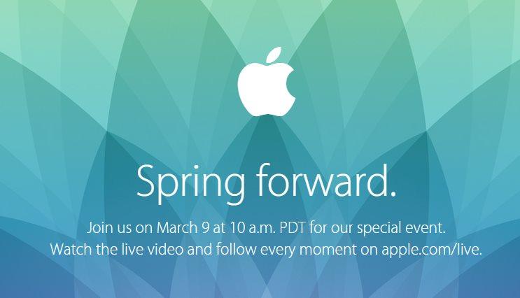 Apple transmitirá por Internet el evento de presentación del Apple Watch