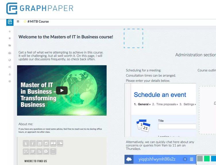 graphpaper, para crear paneles que faciliten el trabajo en equipo