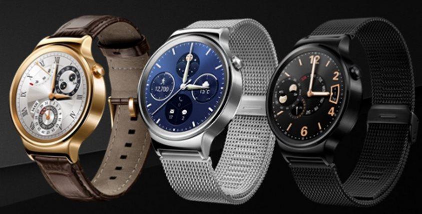 Aquí tenemos el Huawei Watch, el reloj inteligente de Huawei