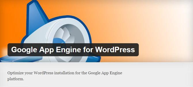 google app engine wordpress