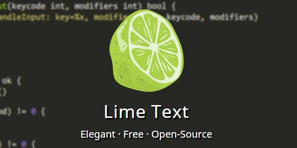 Lime Text Editor: Un Proyecto De Código Abierto Como Sublime Text