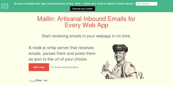 Mailin: Recibe Emails En Tus Aplicaciones Fácilmente