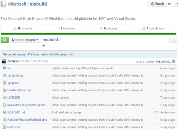 ms build microsoft
