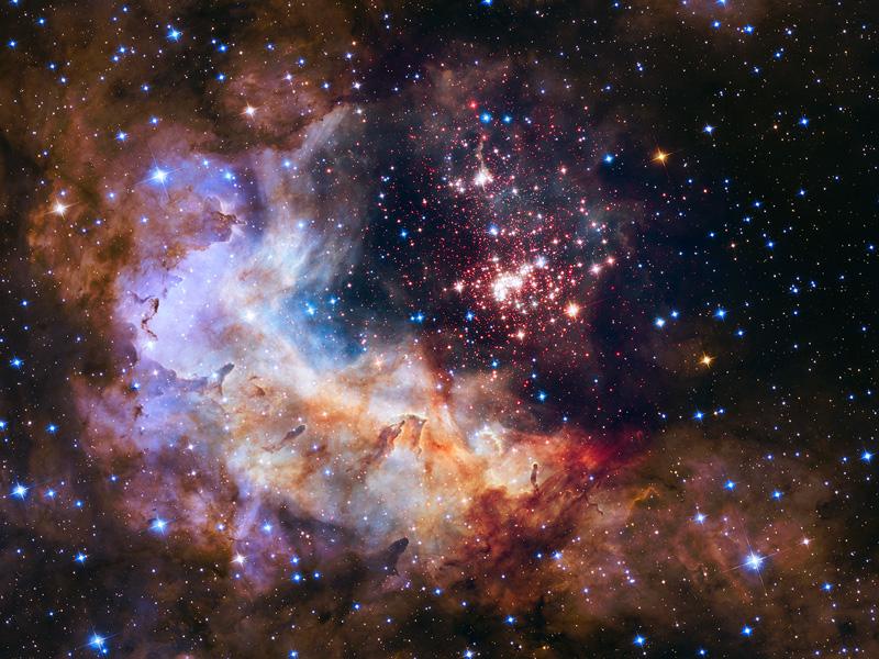 La fotografía elegida por la NASA para celebrar los 25 años del Hubble