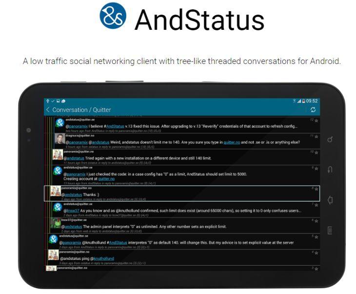 AndStatus