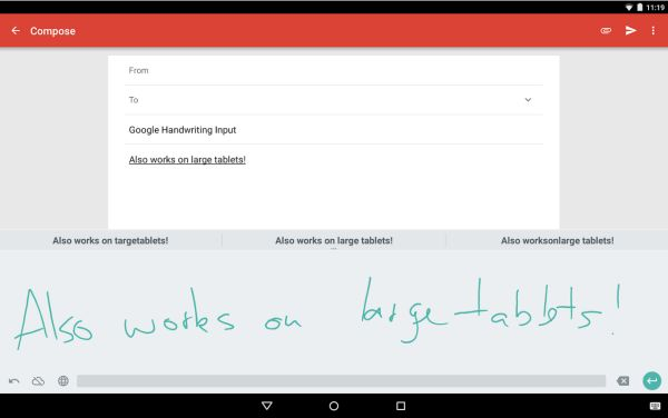 GoogleHandwritingInput