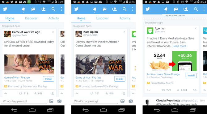 app ads twitter