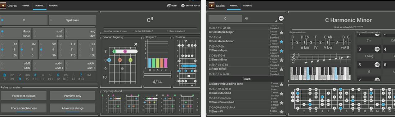 Las mejores apps android para encontrar acordes de canciones